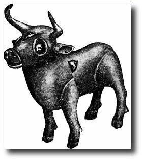 známá figurka býčka