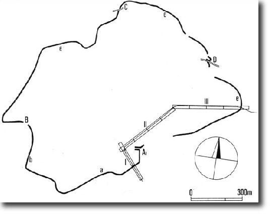 mapa Hradiště u Stradonic